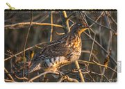 Grouse In A Tree Carry-all Pouch