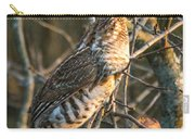 Grouse In An Apple Tree Carry-all Pouch