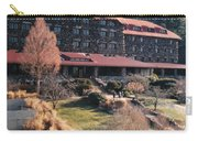 Grove Park Inn In Early Winter Carry-all Pouch by Paulette B Wright