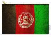 Grunge Afghanistan Flag Carry-all Pouch