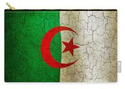 Grunge Algeria Flag Carry-all Pouch