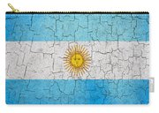 Grunge Argentina Flag Carry-all Pouch