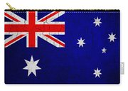 Grunge Australia Flag Carry-all Pouch