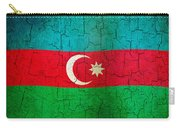 Grunge Azerbaijan Flag Carry-all Pouch