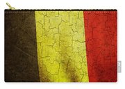 Grunge Belgium Flag Carry-all Pouch