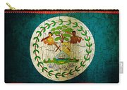 Grunge Belize Flag  Carry-all Pouch