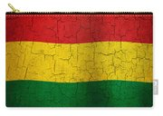 Grunge Bolivia Flag Carry-all Pouch