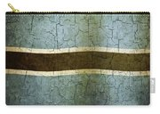 Grunge Botswana Flag Carry-all Pouch