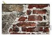 Grunge Brick Wall Carry-all Pouch by Elena Elisseeva