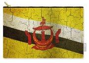 Grunge Brunei Flag Carry-all Pouch