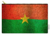 Grunge Burkina Faso Flag Carry-all Pouch