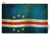 Grunge Cape Verde Flag Carry-all Pouch