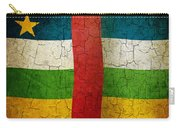 Grunge Central African Republic Flag Carry-all Pouch