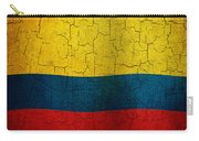 Grunge Colombia Flag Carry-all Pouch