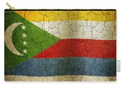 Grunge Comoros Flag Carry-all Pouch