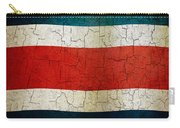 Grunge Costa Rica Flag Carry-all Pouch