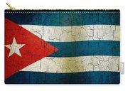 Grunge Cuba Flag Carry-all Pouch