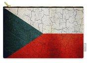 Grunge Czech Republic Flag Carry-all Pouch