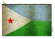 Grunge Djibouti Flag Carry-all Pouch
