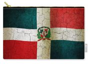 Grunge Dominican Republic Flag Carry-all Pouch