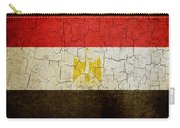 Grunge Egypt Flag Carry-all Pouch