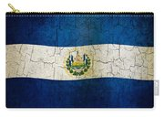 Grunge El Salvador Flag Carry-all Pouch
