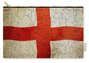 Grunge England Flag Carry-all Pouch