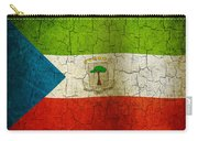 Grunge Equatorial Guinea Flag Carry-all Pouch