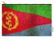 Grunge Eritrea Flag Carry-all Pouch