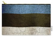 Grunge Estonia Flag Carry-all Pouch