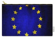 Grunge European Union Flag Carry-all Pouch