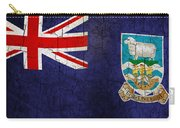 Grunge Falkland Islands Flag Carry-all Pouch