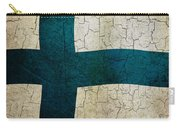Grunge Finland Flag Carry-all Pouch