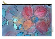 Grunge Floral II Carry-all Pouch