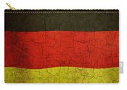 Grunge German Flag Carry-all Pouch