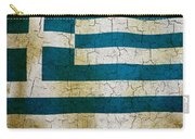Grunge Greece Flag Carry-all Pouch