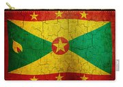 Grunge Grenada Flag Carry-all Pouch