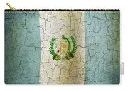 Grunge Guatemala Flag Carry-all Pouch