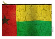 Grunge Guinea-bissau Flag Carry-all Pouch