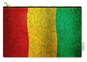Grunge Guinea Flag Carry-all Pouch