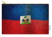 Grunge Haiti Flag  Carry-all Pouch