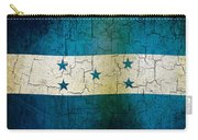 Grunge Honduras Flag Carry-all Pouch