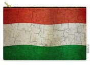 Grunge Hungary Flag Carry-all Pouch