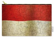 Grunge Indonesia Flag Carry-all Pouch