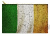 Grunge Ireland Flag Carry-all Pouch
