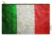 Grunge Italy Flag Carry-all Pouch