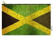 Grunge Jamaica Flag Carry-all Pouch