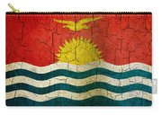 Grunge Kiribati Flag Carry-all Pouch