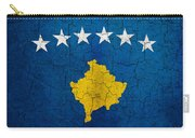 Grunge Kosovo Flag Carry-all Pouch