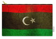 Grunge Libya Flag Carry-all Pouch